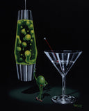 "Michael Godard ""Devilish Martini "" 17.5"" by 23.5"" Limited Ed G Series 500 - Art Center Gallery"