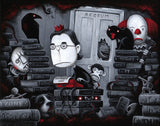 "Justin Hillgrove ""The King of Horror"" Limited Edition Canvas Giclee"