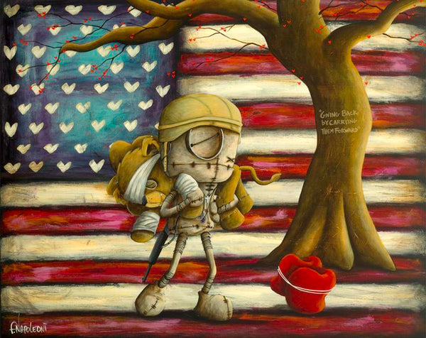 "Fabio Napoleoni ""We Go Forward Together"" Limited and Open Edition"