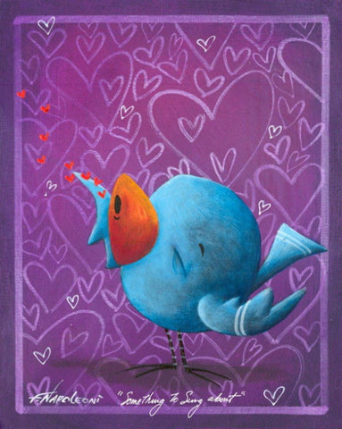 "Fabio Napoleoni ""Something to Sing About"" Limited Edition Metal"