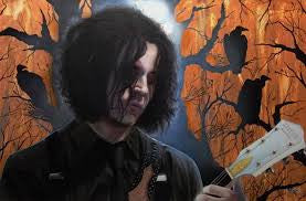 "Stickman ""All the Words are Gonna Bleed from Me"" (Jack White) Limited Edition Canvas Giclee"