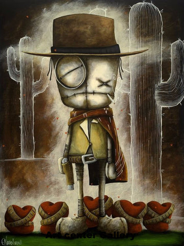 "Fabio Napoleoni ""Good the Bad & Loveless ""  Limited PP Paper -18"" X 24""  Edition of 33"