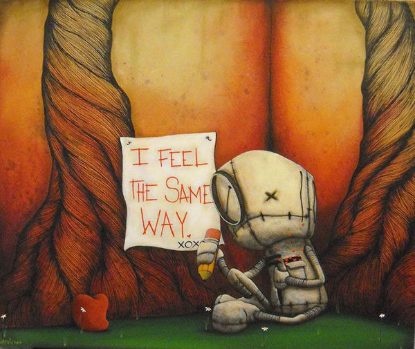 "Fabio Napoleoni ""Assurance Well Received"" Limited Edition Paper Giclee"