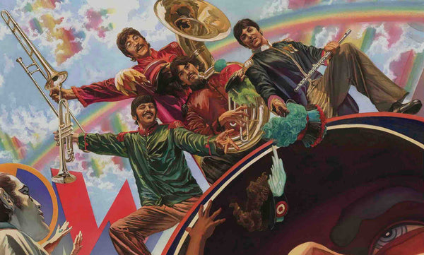 "Alex Ross ""Yellow Submarine Fab Four"" Limited Edition Canvas Giclee"