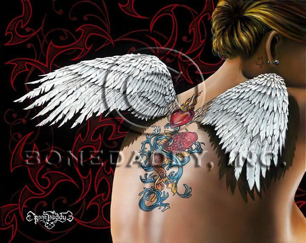 "Bone Daddy ""Angelic"" Limited Edition Canvas Giclee"