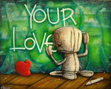 "Fabio Napoleoni ""How Can I miss Something ""  Limited Canvas S/N - 22"" X 28""  Edition of 247"
