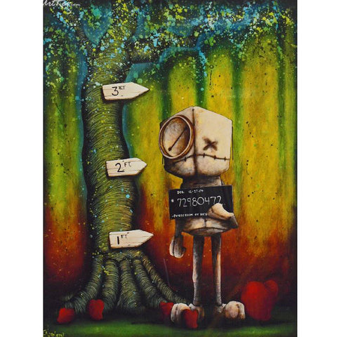 "Fabio Napoleoni-  ""Possession of Hope with intent to distribute"" - Size 15 by 20 SN 127 - Art Center Gallery"
