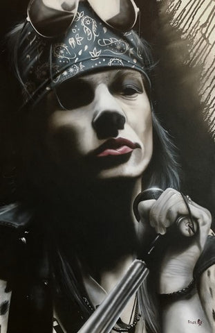 "Stickman ""AXL : Cause Nothing Lasts Forever "" Canvas Giclee  Limited Edition"