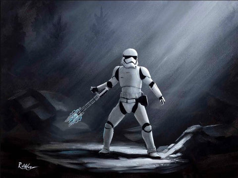 "Rob Kaz Star Wars - ""TR-8R"" Limited Edition Canvas Giclee"