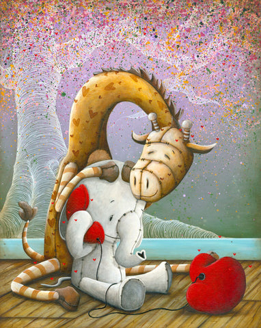"Fabio Napoleoni ""Sound Advice ""  LTD SN Canvas -16"" X 20""  Edition of 104 & companion Paper."