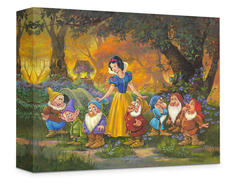 "Michael Humphries Disney ""Among Friends"" Limited Edition Canvas Giclee"