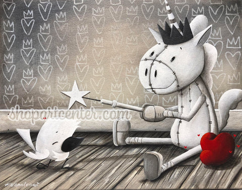 "Fabio Napoleoni ""And Fabulous You Shall Be"" Limited Edition Canvas Giclee"