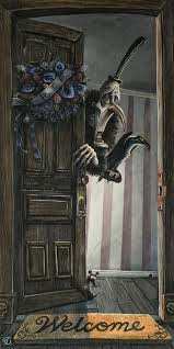 "Bob Doucette Bob Doucette-""At Death's Door "" Size-12 x 24""- Embellished Limited edition of 10 Limited Canvas Giclee"