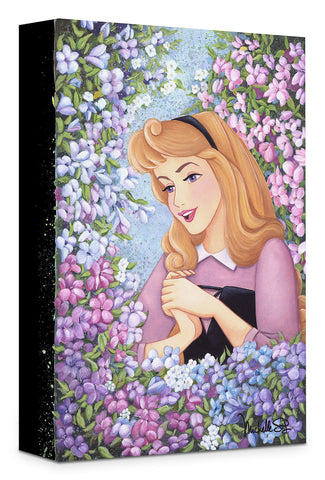 "Michelle St. Laurent Disney ""Briar Rose"" Limited Edition Canvas Giclee"