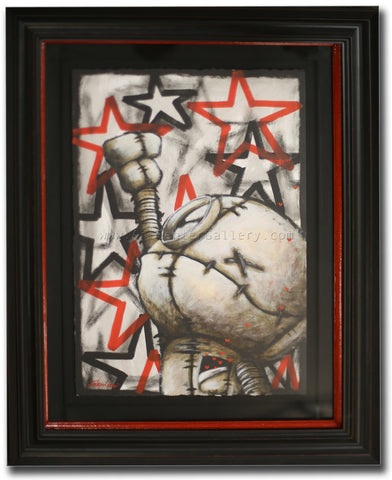 "Fabio Napoleoni ""Catch That One Wish"" Original on Paper"