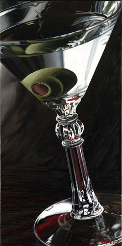 "Thomas Arvid ""Classic Martini"" Limited Edition Metal"
