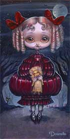 "Bob Doucette Bob Doucette-""Lily Vamps "" - Limited Edition of 500-7"" by 14""- Canvas Giclee Print Giclee Canvas Prints"
