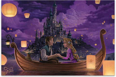 "Jared Franco Disney ""Festival of Lights"" Limited Edition Canvas Giclee"
