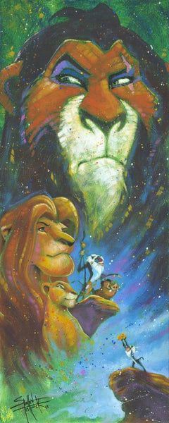 "Stephen Fishwick Disney ""Wicked Brother"" Limited Edition Canvas Giclee"