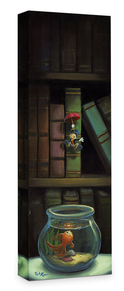 "Rob Kaz Disney ""Dropping In"" Limited Edition Canvas Giclee"