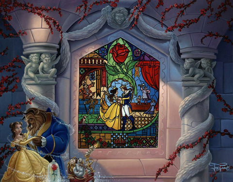 "Jared Franco Disney ""Enchanted Love"" Limited Edition Canvas Giclee"