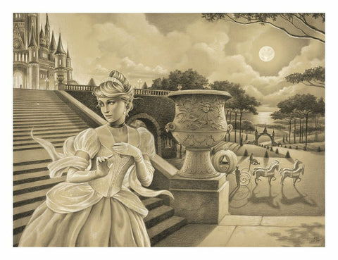 "Edson Campos Disney ""Escape Before Midnight"" Limited Edition Paper Giclee"