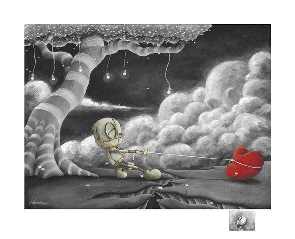 "Fabio Napoleoni ""We keep it together""  Limited SN Paper  -18.75"" X  23""  Edition of 156 -Art Center Gallery www.shopartcenter.com  1-866-254-6523"