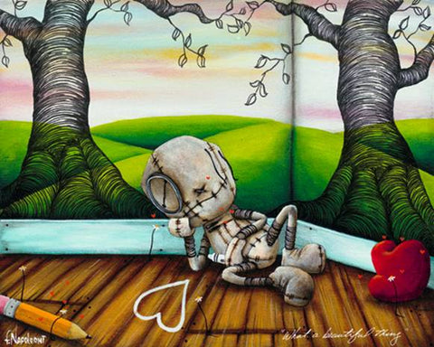 "Fabio Napoleoni """"What a Beautiful Thing"" (Metal) ""  Limited  Metal  350 - 8"" X 10"" -Art Center Gallery www.shopartcenter.com  1-866-254-6523"