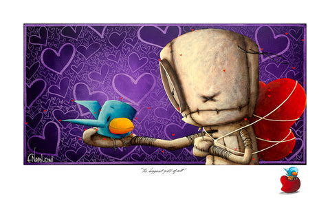 "Fabio Napoleoni ""The Biggest Gift of All"" Limited Edition Paper Giclee"