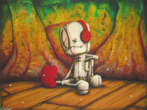 "Fabio Napoleoni-"" Listen Carefully"" - Limited Edition SN 247  19"" by 28""-  Paper Giclee Print. - Art Center Gallery"