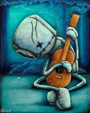 "Fabio Napoleoni ""Playing on My Heart Strings (Metal) ""  Limited  Metal  350 - 8"" X 10"""