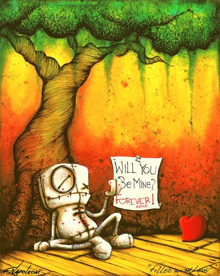 "Fabio Napoleoni ""Filled with Love"" Limited Edition Metal"