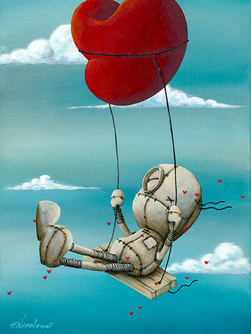 "Fabio Napoleoni  ""High above it all ""   Limited SN Paper - 13 "" X  17 ""  Edition of  98"