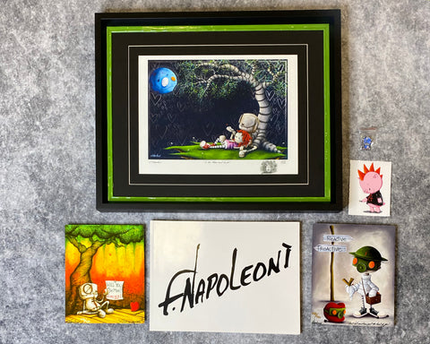 "Fabio Napoleoni ""Fabio Flair Package: MOON SWOON"" Limited Edition"