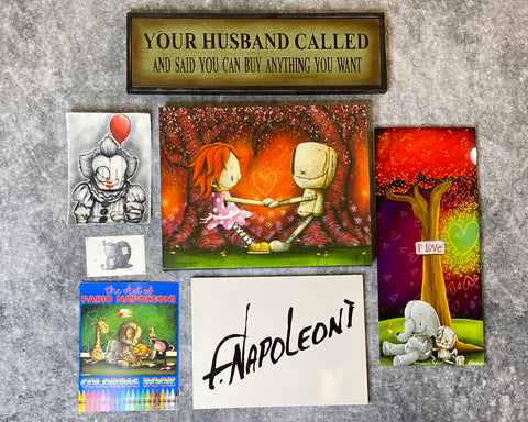"Fabio Napoleoni ""Fabio Flair Package: TOGETHER FOREVER"" Limited Edition"