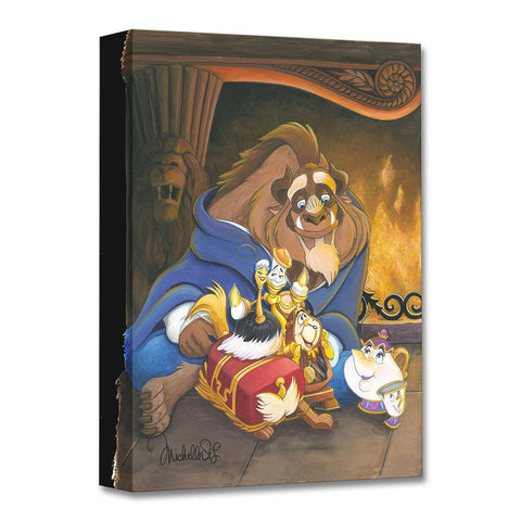 "Michelle St. Laurent Disney ""Family of Enchanted Things"" Limited Edition Canvas Giclee"