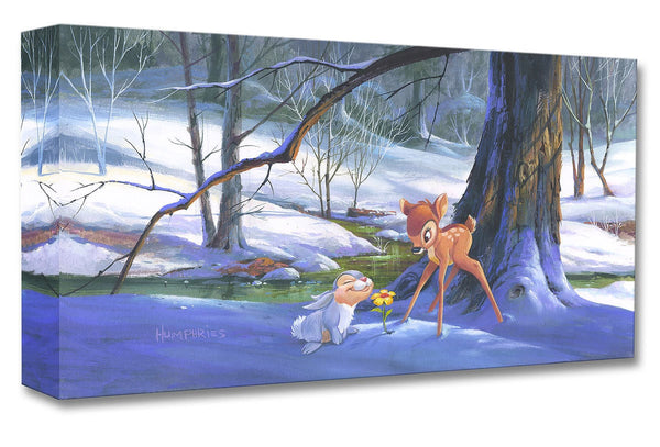 "Michael Humphries Disney ""First Hint of Spring"" Limited Edition Canvas Giclee"