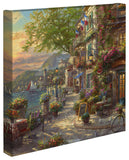 "Thomas Kinkade Studios ""French Riviera Café"" Limited and Open Edition Canvas"