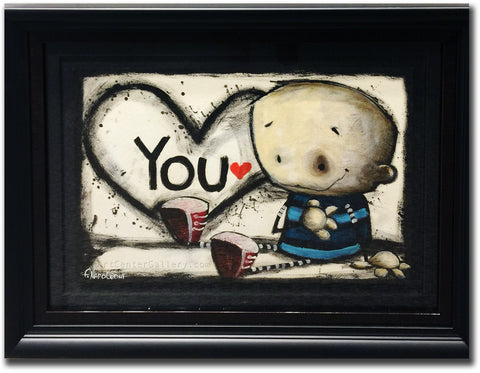 "Fabio Napoleoni ""From the Bottom of my Heart"" Original on Paper"