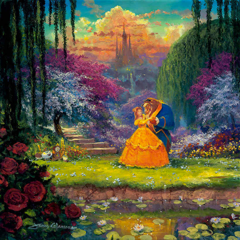 "James Coleman Disney ""Garden Waltz"" Limited Edition Canvas Giclee"