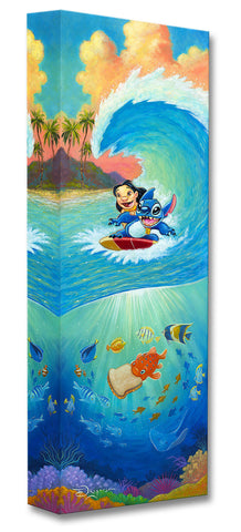 "Tim Rogerson Disney ""Hawaiian Roller Coaster"" Limited Edition Canvas Giclee"