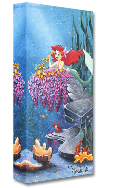 "Michelle St. Laurent Disney ""He Loves Me"" Limited Edition Canvas Giclee"