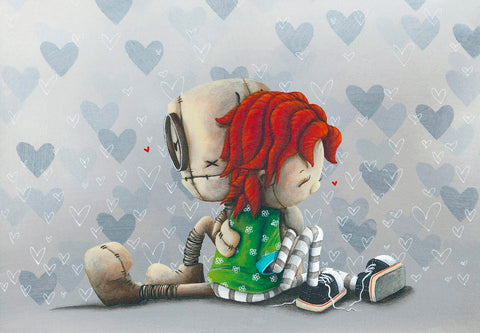 "Fabio Napoleoni ""Heart to Heart"" Limited Edition Giclee"