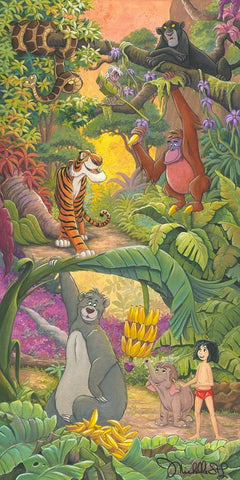 "Michelle St. Laurent Disney ""Home in the Jungle"" Limited Edition Canvas Giclee"
