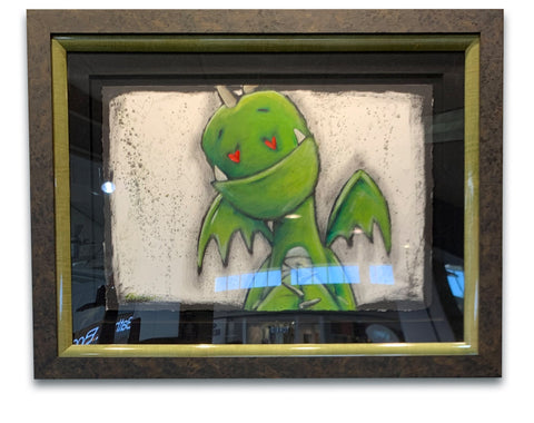 "Fabio Napoleoni ""I Love What I See"" Original on Paper"