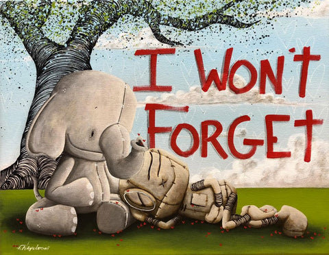 "Fabio Napoleoni ""I Won't Forget"" Limited Edition Paper Giclee"