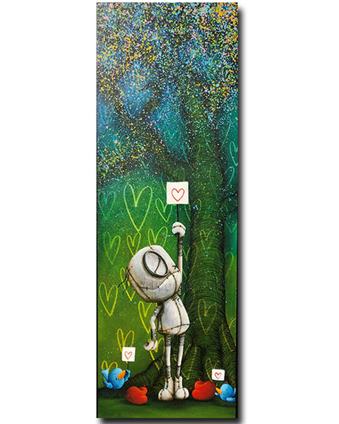 "Fabio Napoleoni ""If You Don't Stand for Something"" Limited Edition Canvas Giclee"