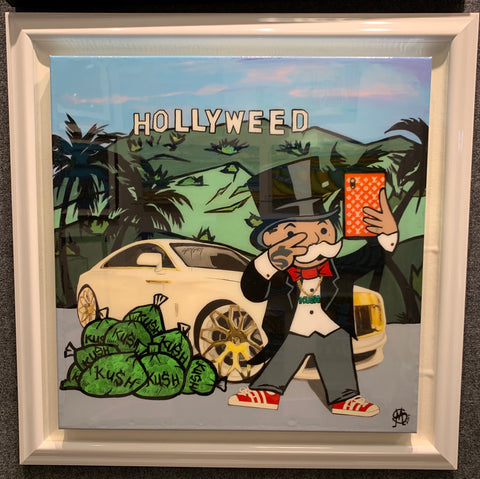 "Sinister Monopoly ""Hollyweed"""
