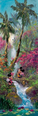 "James Coleman Disney ""Island Afternoon"" Limited Edition Canvas Giclee"