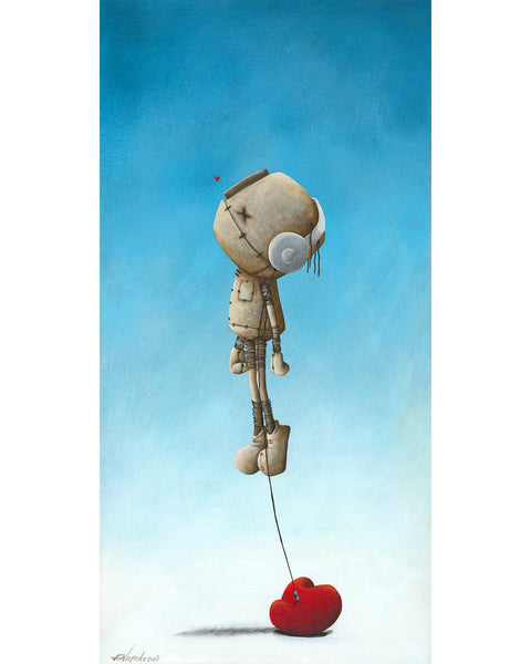 "Fabio Napoleoni ""It Gets Me Higher"" Limited Edition Canvas Giclee"